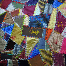 Crazy Quilts: Yesterday, Today and Tomorrow | Quilt around the World & Antique Crazy Quilt Adamdwight.com