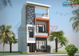 1250 sq ft duplex house plan 2 bhk