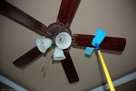 Clean Ceiling Fan Blades
