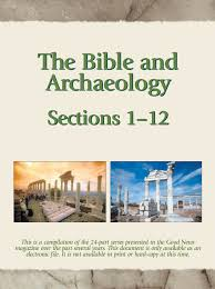The Baker Book Of Bible Charts Maps And Timelines The Bible And Archaeology Part I Good News Magazine