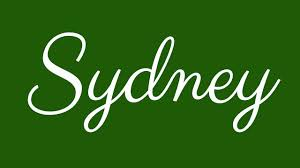 Sydney Name Design Learn How To Sign The Name Sydney Stylishly In Cursive Writing