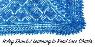 How To Read Lace Knitting Charts Holey Shawls Learning To Read Lace Charts Interweave