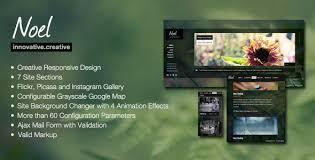 ajax website template. Picasa HTML Website Template from ThemeForest