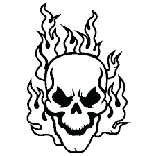 Skull And Crossbones Coloring Pages Skull And Crossbones Coloring