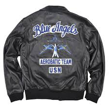 avirexl leather jackets blue angels this is the image of design based on the a 2 the blue angels team jacket made of leather jacket
