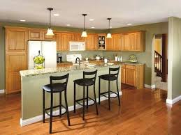 Kitchen Colors With Light Wood Cabinets Best Inspiration Ideas