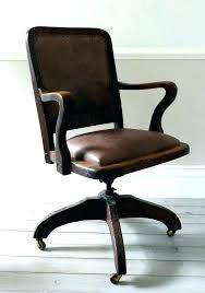 office chair vintage. Antique Office Chair Furniture Chairs Desk Vintage Leather Time Life For
