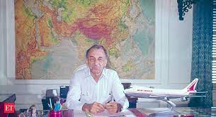 the man who took india to the skies