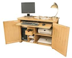 hidden home office. ASTON Oak Hidden Home Office