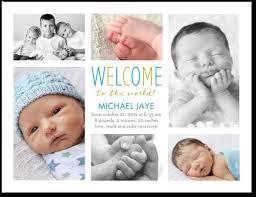 Birth Announcement Postcards Tirevi Fontanacountryinn Com