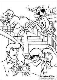 Small Picture scooby doo coloring pages You are here PrinterKids Scooby Doo