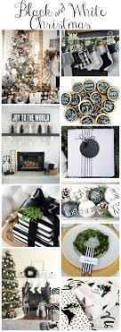 <b>Black</b> & White <b>Christmas Style</b> Series | The Happy Housie | White ...