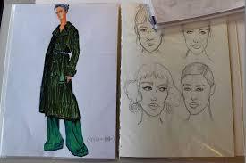 絵が苦手でも大丈夫サマーセミナーでファッションデザイン画に挑戦