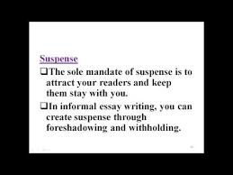 informal essay informal essay
