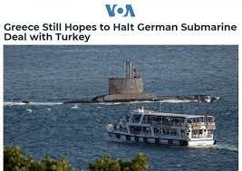 Yunanistan, Almanya'nın Türkiye'yle denizaltı anlaşmasını durdurmasını  istiyor • Haydi Haber - Gündelik Haber, Son Dakika Gelişmeleri
