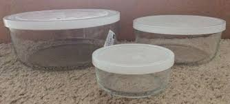 bormioli rocco frigoverre 3 piece round glass food storage container set household in indianapolis in offerup