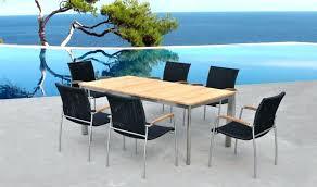 Ensemble table chaise exterieur table de jardin exterieur | Lepetitsiam