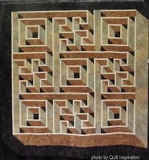 Labyrinth Walk Quilt Pattern Simple Quilt Inspiration Quilts For Autumn And Halloween Part 48