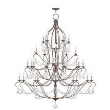 providence 30 light venetian golden bronze incandescent ceiling chandelier