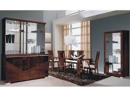modern italian dining room furniture. sku 26439 capri high gloss dark walnut finished extendable dining table modern italian room furniture d
