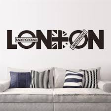 Small Picture Online Shop London Vinyl Union Jack Art Wall Sticker Home decor