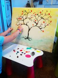 easy hand made painting