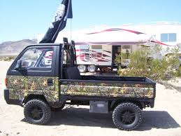 kei class mini truck rigged out for hunting site dealer offers ese mini trucks page 4 pirate4x4 com 4x4 and off road