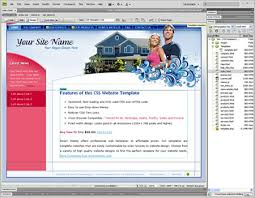 Dreamweaver Website Templates Amazing Bubbly Blue Template