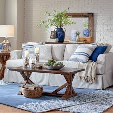 Navy Rug Living Room