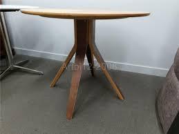 john lewis radar 4 seater round dining table oak walnut 2782