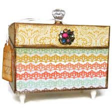 Decorative Recipe Box 100 best Boxes images on Pinterest Baptism gifts Christening 80