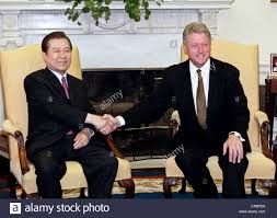 president bill clinton meets with south korean president kim dae jung in the oval office of the white house june 9 1998 in washington dc bill clinton oval office