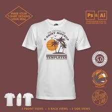 How To Make A Tshirt Design Using Illustrator Mens T Shirt Mockup Templates For Adobe Thevectorlab