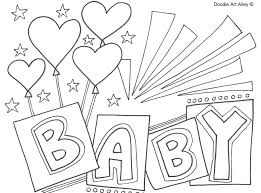 baby shower coloring pages baby shower coloring pages at getcolorings com free printable