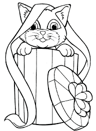 Coloring Pages Kitten M9868 Caterpillar Ng Page Printable Cute