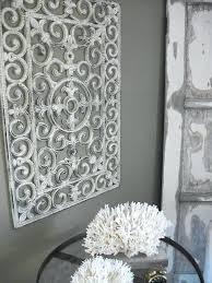 white metal wall decor white metal art decor mesmerizing 3 beautiful shabby chic wall art crafts