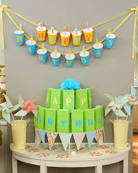 party cup birthday banner