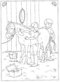 Kleurplaat Paardenstal Kids N Fun De Malvorlage Auf Dem Reiterhof