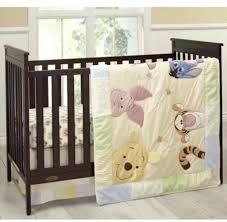 disney winnie the pooh king 7 piece nursery crib bedding set