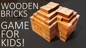 Wooden Brick Game Wooden Brick Game For Kids YouTube 55