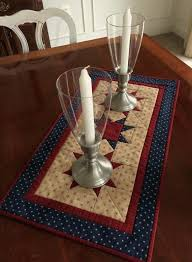 Creative Ways To Display Baby Quilts Ways To Display Antique ... & Primitive American Red Beige Blue Quilted Table Runner Or Wall Hanging Quilt  Moda Best Way To ... Adamdwight.com