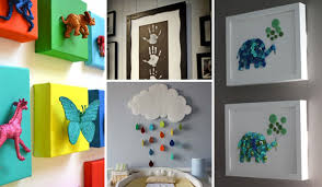 Diy kids room Wall Decor Diywallartforkidsroom0 Woohome Top 28 Most Adorable Diy Wall Art Projects For Kids Room Amazing