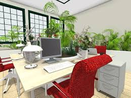 Ideas for office design Creative Roomsketcherofficedesignideasmakeitgreen Roomsketcher Office Ideas Roomsketcher