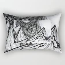 Drapery Drawing Double Drapery Drawing Rectangular Pillow By Erikastamp