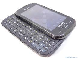 samsung side flip phones. the qwerty keyboard sports a venerable layout - image from samsung craft review side flip phones phone arena