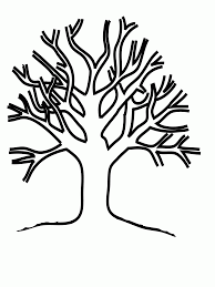 Small Picture Trees And Leaves Coloring Pages And Of Without esonme