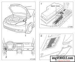 toyota camry xv30 fuse box diagrams schemes vehicle com toyota camry xv30 fuse box fuse locations