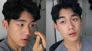 natural korean male makeup tutorial 남자 데일리 메이크업 brute choi