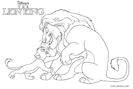 Disney characters like simba and mufasa have contributed in increasing the popularity of lion coloring sheets among #kids. Free Printable Lion King Coloring Pages For Kids