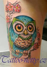 Tetování Sova Tetování Tattoo